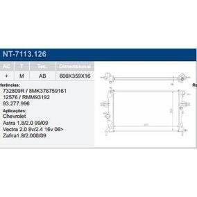 Radiador Astra Zafira 1.8/2.0 99/ C/ar Mecanico