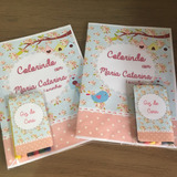 40 Livros De Colorir Jardim Encantado Kit Completo