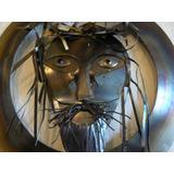Escultura, Cristo, Indigena, Hierro