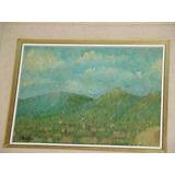 Fray Guillermo Butler Pintura Paisaje De Orense 1923,firmado