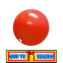 Nariz De Clown Plastica Profesional, Disfraz Circo, Payaso !