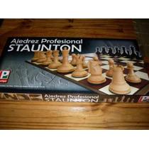 Juego Profesional De Ajedrez Staunton Con Tablero