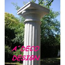 Columnas Cemento Toscana Estriada 2.05 Fabrica