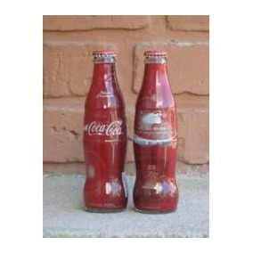 Botella Coca Cola Edicion Especal Luna Park 237ml
