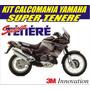 Kit Calcomania Sticker Moto Yamaha Super Tenere