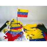 Banderas De Venezuela Para Carros , Escritorios Y Virdrios