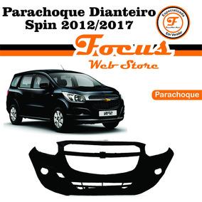Parachoque Diant Spin 12 13 14 15 16 17 Preto Liso Sem Furo