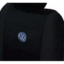 Capa Banco Carro Wv Gol Quadrado Tecido Original Volkswagen