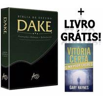 Bíblia De Estudo Dake Capa Lançamento Frete Grátis.!