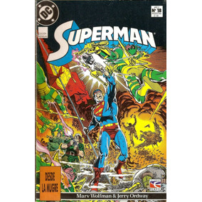 Revistas: Superman N°18, 19, 20 Y 21 (perfil)