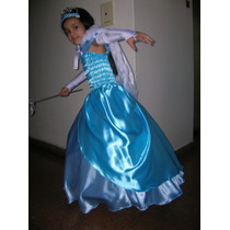 Vestido Disfraz De Princesa C/miriñaque Hasta T 8