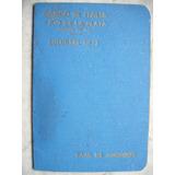 Antigua Libreta Caja De Ahorro Banco De Italia 1941