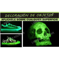 Pintura Fotoluminiscente Fosforescente Fluo Glow In The Dark