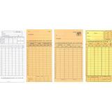 Tarjetas-relojes -ficheros-cronos Vaquer-amano Bx1500