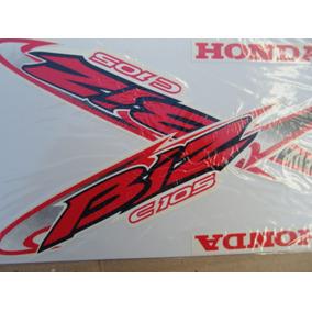 Honda Biz C105 Juego Calcos Repuesto Simil Original