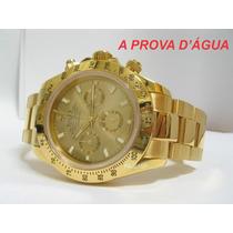 Relógio Rolex Prova D´agua Automatico,todo Funcional/ / C/cx