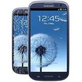 Vidrio Pantalla Glass Galaxy S3 I9300 Azul O Negro Original