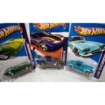 Hot Wheels Promoção Lote 3 Corvettes Pague 2 Leve 3