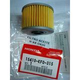 Filtro Aceite Honda Xr Twister Tornado Falcon Original - Fas