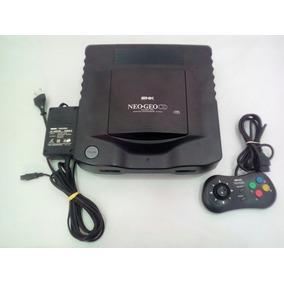 Neo Geo Cd Com 1 Controle, Fonte, Cabo Av E 1 Jogo