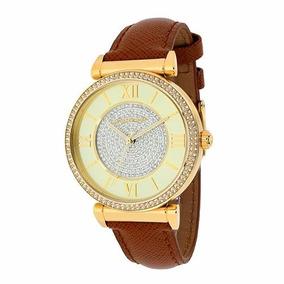 Relógio Michael Kors Mk5010 Couro Caramelo Original Lindo - Relógios ... cf558ec72e
