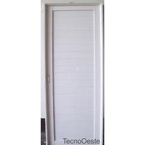 Puerta Exterior Aluminio Blanco Ciega Reforzada 70x200 Final