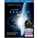 Gravity - Blu-ray 3d + Blu-ray + Dvd, Original Y Sellado