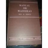 Manual De Maderas Anatolio Ernitz La Plata Fraganplat