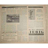 Clipping Autos 500 Millas Italia Roma Moto Club 1934 - 3 Pgs