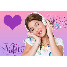 Kit Imprimible De Violetta De Disney - Incluye Candy Bar