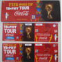 2 Entradas Coca Fifa World Cup Trophy Tour - Mundial 2010