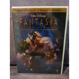 Dvd Fantasia + Fantasia 2000 - Contém 2 Dvds - Lacrado