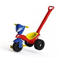 Triciclo Motoquinha Race Com Empurrador - 7354 Xalingo