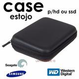 Case Protetor / P Hd Externo Seagate/ Wd/ Samsung/toshiba