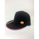 Bonés Unissex Reggae Aba Reta Flex Fit