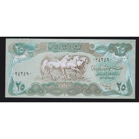 Irak , 25 Dinars, Año 1991, Sin Circular