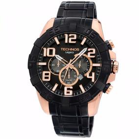 Relógio Technos Masculino Preto / Rose Os20il/1p Wr 10atm