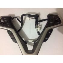 Moldura C/ Controle Multimidia Volante Veloster Hyundai