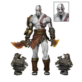 Action Figure Kratos God Of War 3 Neca Boneco Playstation 3
