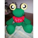 Sapo Pepe Tejido Amigurumi Crochet