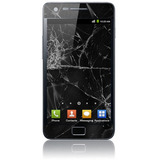 Vidrio Pantalla Glass Galaxy S2 I9100 Negro Original