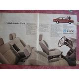 Publicidad Del Vw Carat 1987