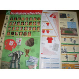 Poster Independiente- Atlas Del Futbol Argentino (010) Ole