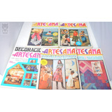 Revista Artesana Manualidades Moda Patrones Muñecos Lote X 5
