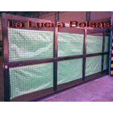 Tela Cubre Cerco - Rafia Verde 1.85m Rollo X 100 O Fraccion