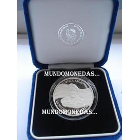 Malvinas De Plata, Hermosa Moneda En Estuche C/ Certificado