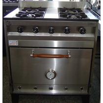 Cocina 4 Hornallas 80 Cm Eg