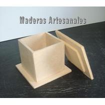 10 Cajas Tapa Encastre Fibrofacil-mdf- 5x5x5 $55 (c/u 5,50)