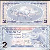Beringia 2 Dinars 2012 Pastico