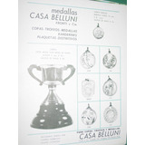 Publicidad Antigua Casa Belluni Fronti Trofeos Medallas Copa